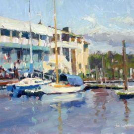 Jim Carson in the Mattie King Davis Art Gallery through November