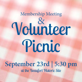 You're Invited to the Semi-Annual Volunteer Picnic!