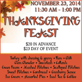 Community Thanksgiving Feast