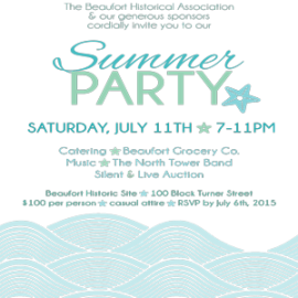 Summer party tickets still available!