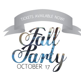 Purchase Your Fall Party Tickets Now